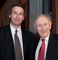 Ted Rappaport and Prof. Mischa Schwartz