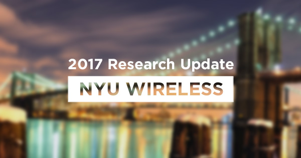 Happy Holidays from NYU WIRELESS